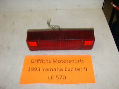 1993 YAMAHA EXCITER 2 II LE 570 92 91 EX oem rear taillight phazer lens w back