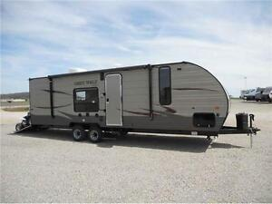 2017 FOREST RIVER GREY WOLF 26 RR TOY HAULER! 5000 LBS! $25995!