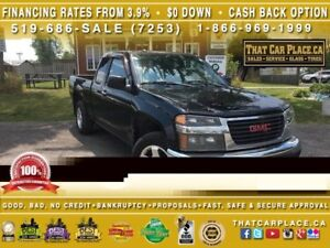 2010 GMC Canyon SLE-Ext Cab-Manual-New Tires