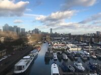 Beautiful 2 bed river view flat in SE16, Canada water with with no deposit and no agency fees to pay