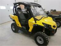 2011 CAN AM COMMANDER 800 4X4!! ROOF, WINDSHIELD,700 MLS!$10695!