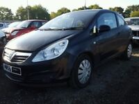 VAUXHALL CORSA D 2006-2013 BREAKING FOR SPARES 1.4 Z14XEP FOR SPARES TEL 07814971951