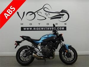 2017 Yamaha FZ 07- Stock #V2483- No Payments for 1 Year**