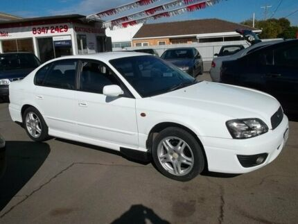 2001 Subaru Liberty MY02 Heritage (AWD) White 4 Speed Automatic Sedan Woodville Park Charles Sturt Area Preview