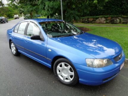 2004 Ford Falcon BA XT Blue Metallic 4 Speed Auto Seq Sportshift Sedan Chermside Brisbane North East Preview