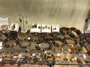 HUGE VARIETY OF TIGER EYE JEWELRY -THE RUSSIAN STONE