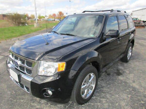 2010 Ford Escape Limited AWD, Leather, Navigation