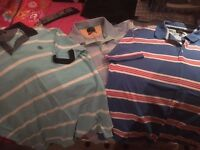 """MEN'S ASSORTED CLOTHING M&S T-SHIRTS, SHIRTS XXL, CORDS TROUSERS 38"""" WAIST"""