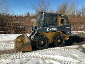 2013 John deere 318D Skid Steer, Low hours