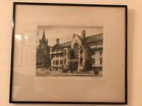 Glasgow University Union painting