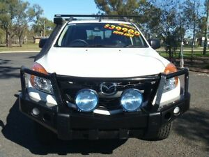 2012 Mazda BT-50 XT (4x4) White 6 Speed Automatic Dual Cab Utility Dalby Dalby Area Preview