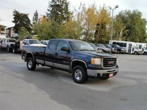 2009 GMC SIERRA 2500HD EXT CAB LONG BOX 4X4