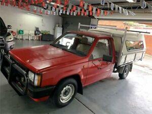 1992 Mitsubishi Triton MJ MX Red 5 Speed Manual Utility Croydon Burwood Area Preview