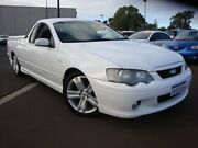 2005 Ford Falcon BA Mk II XR6 Ute Super Cab White 5 Speed Manual Utility Carey Park Bunbury Area Preview