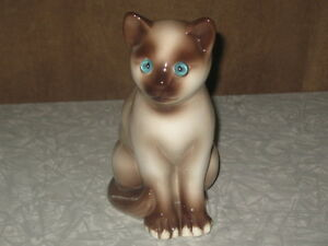 Siamese Cat with Glass Eyes
