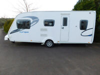2010 Sterling Europa 5 Berth with Mover & Awning