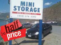 ELVIS Has Left The Building! 1/2 Price Storage/Work Storage!