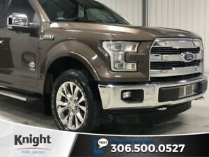 2015 Ford F-150 King Ranch, Crew, Leather, Navi, Htd Seats, Exce