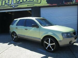 2005 Ford Territory TX Green 5 Speed Auto Active Select Wagon
