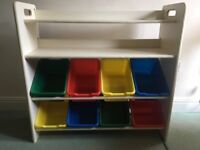 Shelving Unit for Kids Room / Nursery Furniture
