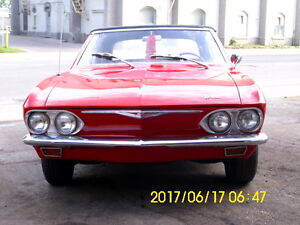 1965 Corvair Monza Convertable $3500.00 need room