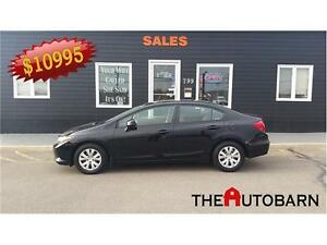 2012 HONDA CIVIC LX - FULLY LOADED AUTOMATIC - BLUETOOTH