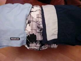 3 Pairs MENS SHORTS - 2 NEW Never Worn, SIZE XL - £9 for ALL 3