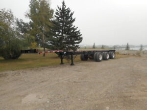 1994 Mond triaxle  40 - 53 foot extendible seacan chassis