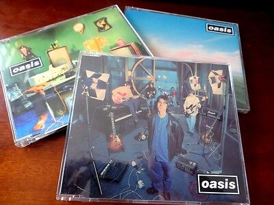 OASIS - LOT de 3 x MAXI CD - SUPERSONIC - SHAKERMAKER - WHATEVER