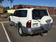 2004 Mitsubishi Pajero NP Exceed LWB (4x4) 5 Speed Auto Sports Mode Wagon Clarence Gardens Mitcham Area Preview