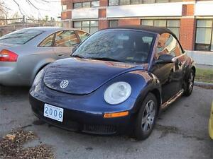 2006 Volkswagen New Beetle Convertible Turbo Leather