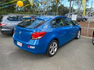 2014 Holden Cruze EQUIPE JH SERIE Blue 5 Speed Manual Hatchback Morayfield Caboolture Area Preview