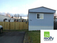 Newly Renovated 3 Bdrm Mobile - Listed By 2% Realty Red Deer