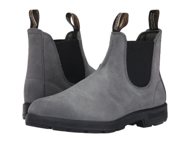 Blundstone Suede Chelsea Boot Men's Sizing (Slip & Water Resistant, 6 Colors) 1