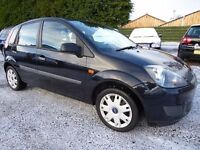 Ford Fiesta 1.4 Style Climate, Lovely Black Low Mileage 5 Door Version, Immaculate Car with New MOT