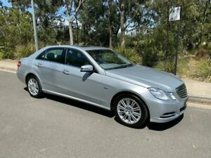 2011 Mercedes-Benz E250 CDI W212 BlueEFFICIENCY Elegance Sedan 4dr 7G-TRONIC + 7sp 2.1DT Silver Arncliffe Rockdale Area Preview