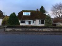 4 bedroom detached house unfurnished west end Nairn-references required No DSS