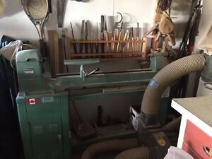Wood Lathe and all associated tools