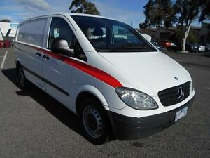 2004 Mercedes-Benz Vito 109CDI Compact White 6 Speed Manual Van Maidstone Maribyrnong Area Preview