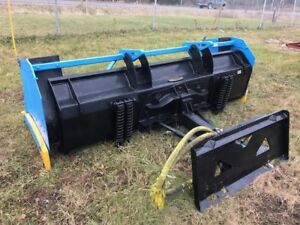 Kage 8' Skid Steer Snow Plow/Pusher