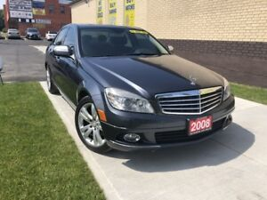 CANADA DAY SPECIAL $500 OFF! 2008 Mercedes-Benz C300 4 Matic