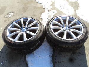 2 Nexen Tires with Rims for 2008-2010 Infiniti G37