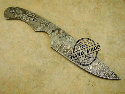 Full Tang Blank Blade Best Damascus Tactical Skinner Blank Blade Knife (Best Full Tang Knives)