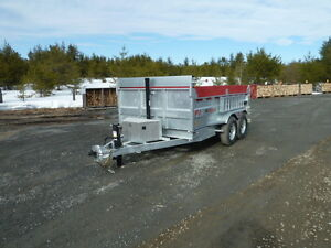 2017 K-Trail Dump Trailer (Galvanized)  7Ton (Sale or Rent)