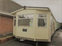 Immaculate 3 bedroom glazed and heated Carnaby Ridgeway Caravan 39x12x3 beds