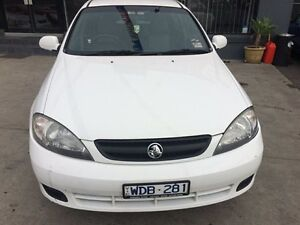 2008 Holden Viva JF MY08 Upgrade White 4 Speed Automatic Hatchback Fawkner Moreland Area Preview