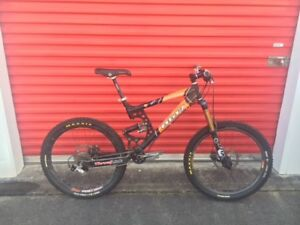 Rocky Mountain RM7 downhill bike