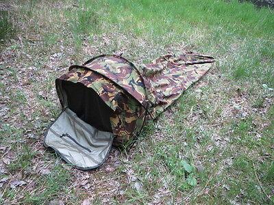 Orig.NL Armee OBSERVER Scharfschützenzelt Gore-tex Sniper Bivy Bag DPM NEU