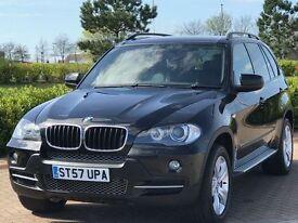BMW X5 3.0 D SE 5d AUTO 232 BHP (black) 2008