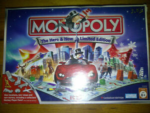 Monopoly Here and Now LIMITED Edition